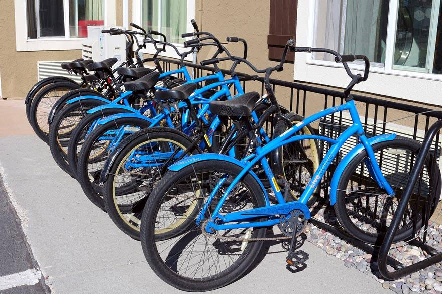 West Yellowstone bicycle rentals at Yellowstone Park Hotel