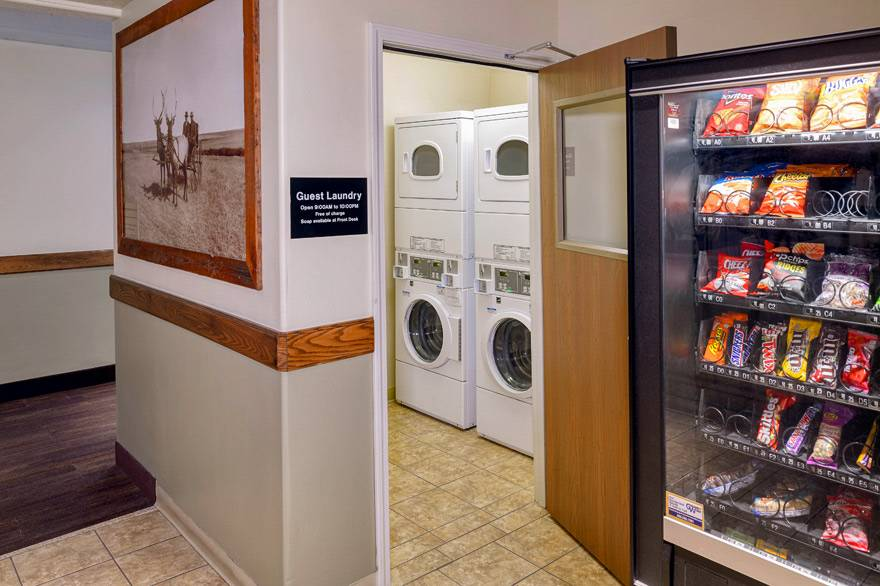 Guest laundry at Yellowstone Park Hotel