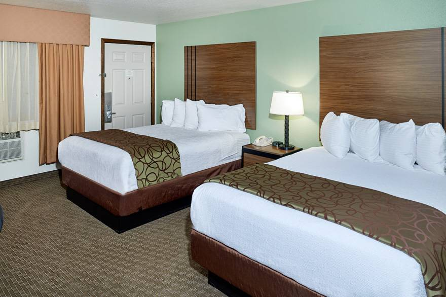 Mountain View Room with 2 Queen Beds at The Ridgeline Hotel at Yellowstone