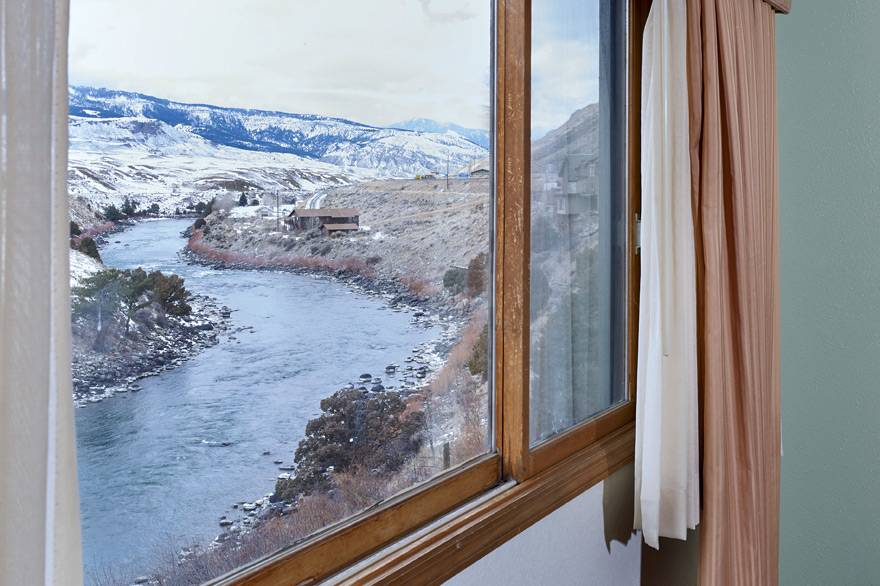 River View room with 1 King Bed at The Ridgeline Hotel at Yellowstone