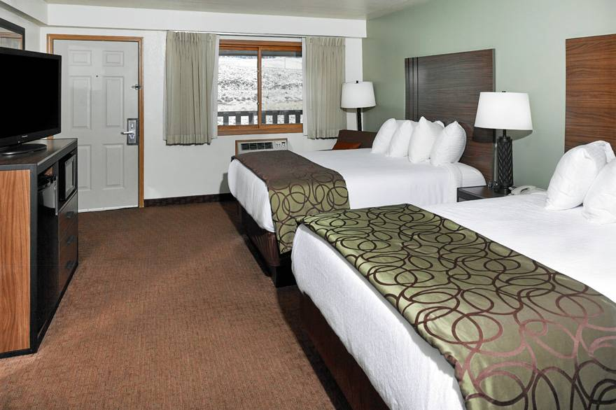 River View room with 2 Queen Beds at The Ridgeline Hotel at Yellowstone