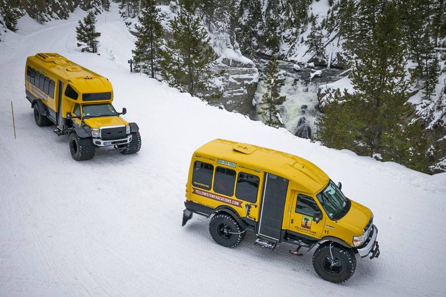 West Yellowstone Snowcoach Tours