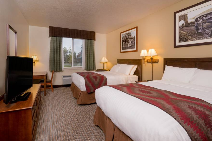 Yellowstone Park Hotel deluxe double
