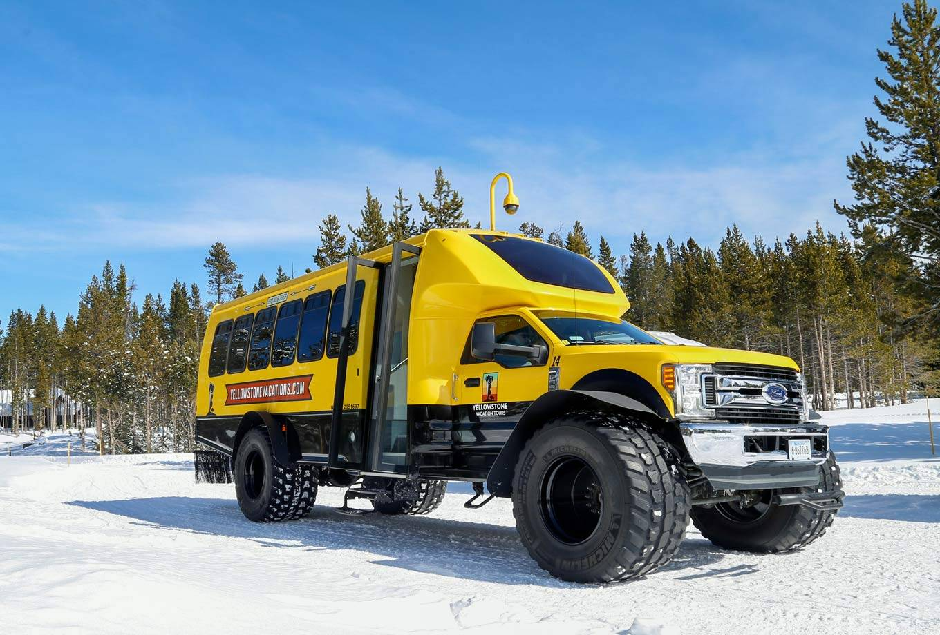 Yellowstone National Park Snowcoach Tours
