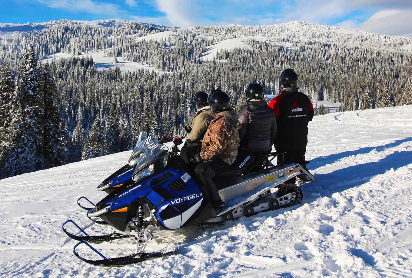 Snowmobile rentals in West Yellowstone