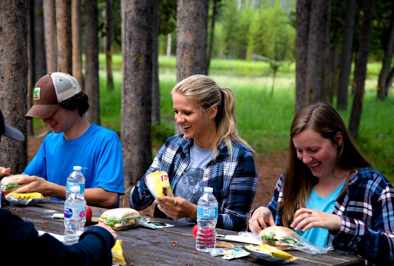 Boxed Lunches in Yellowstone National Park
