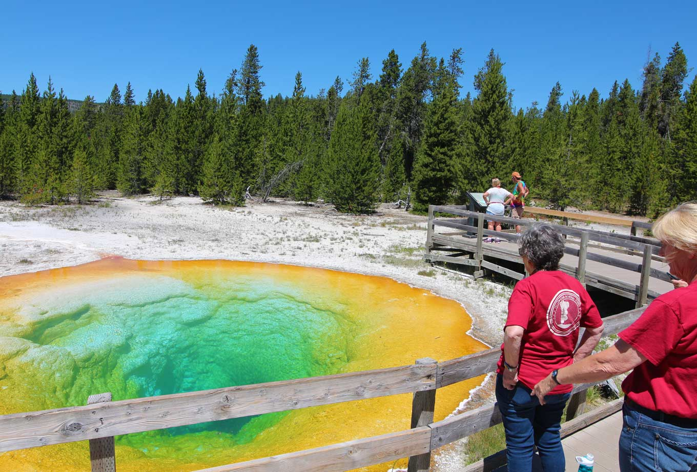 Yellowstone National Park summer activities