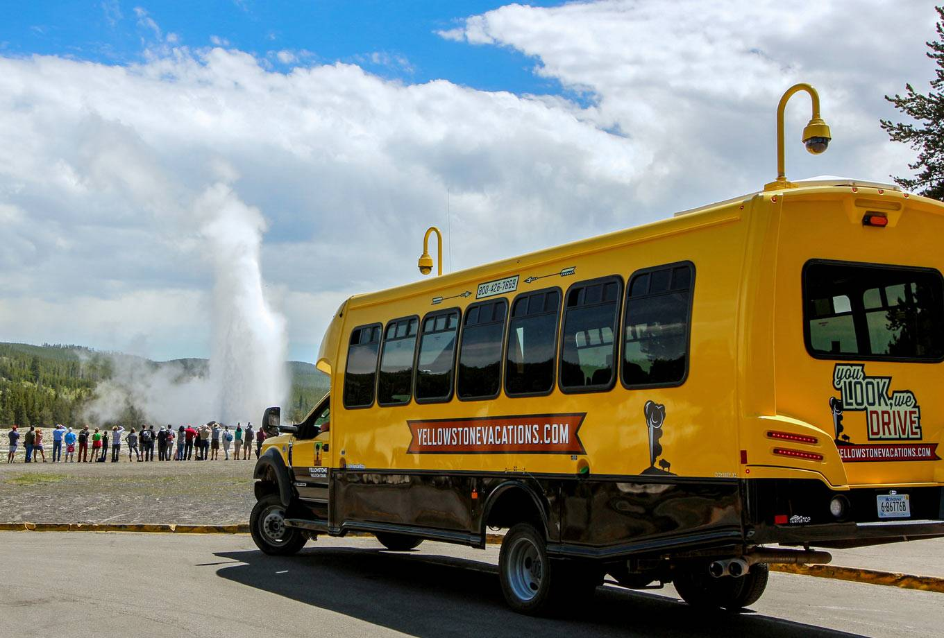 Yellowstone Vacation Tours summer bus tours