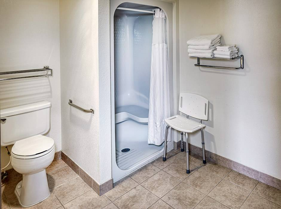 ADA Amenities at the Best Western by Mammoth Hot Springs