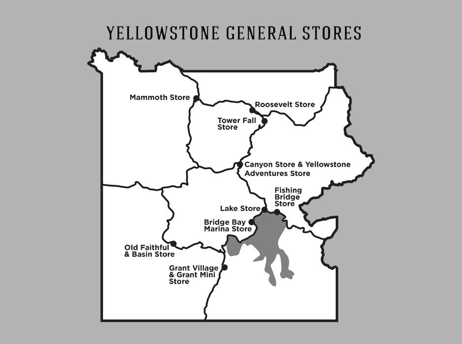 Yellowstone General Stores Yellowstone Vacations