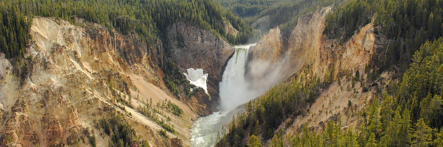 Grand Canyon of the Yellowstone on the Yellowstone River