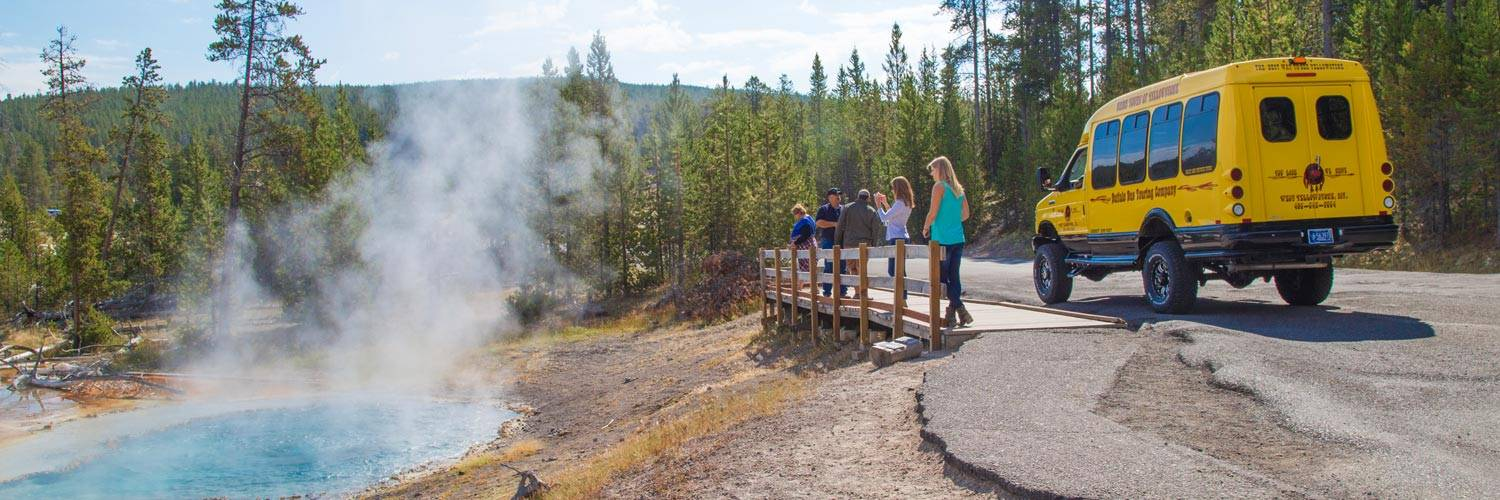 Yellowstone Vacations Sightseeing Tour Package