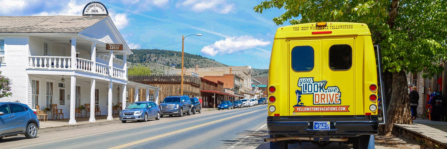 Yellowstone Vacations Bus Tour to Virginia and Nevada City