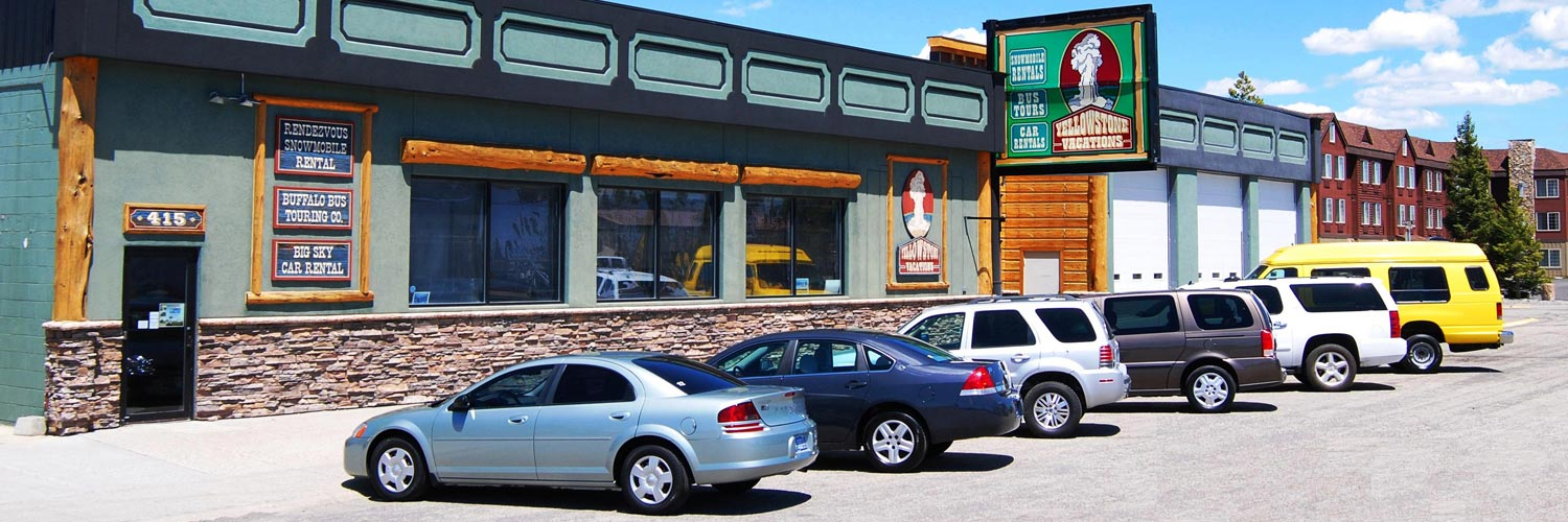 Exterior of Rendezvous Snowmobile Rental, Buffalo Bus Tours, and Yellowstone Vacations