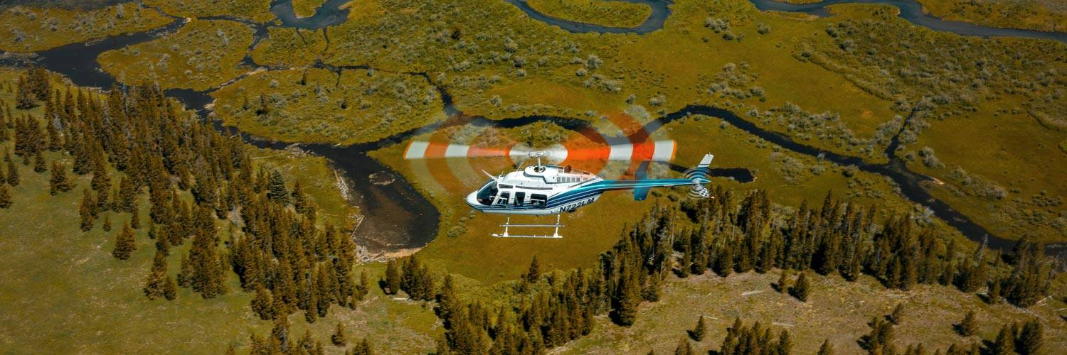 West Yellowstone helicopter tours