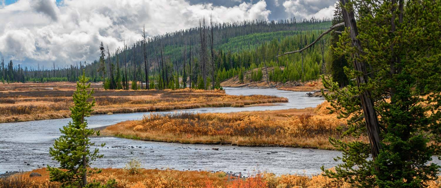 Yellowstone National Park in Fall