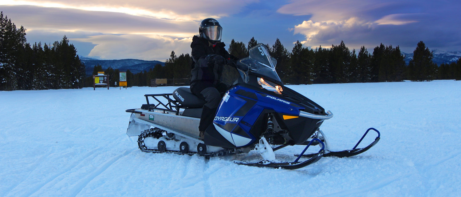 West Yellowstone snowmobile special offer 2019