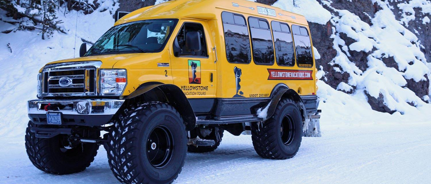Yellowstone Winter Snowcoach Tours
