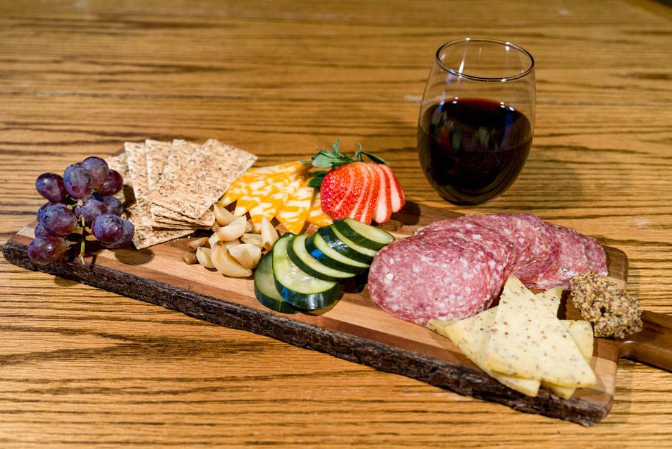 Chacuterie Tray at The Ridgeline Hotel at Yellowstone