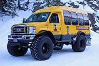 Visit areas of Yellowstone National Park that are otherwise inaccessible when you take a winter snowcoach tour.