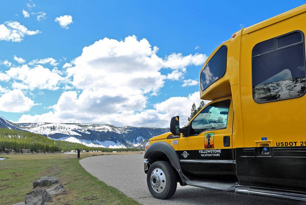 Yellowstone Vacations summer bus tours
