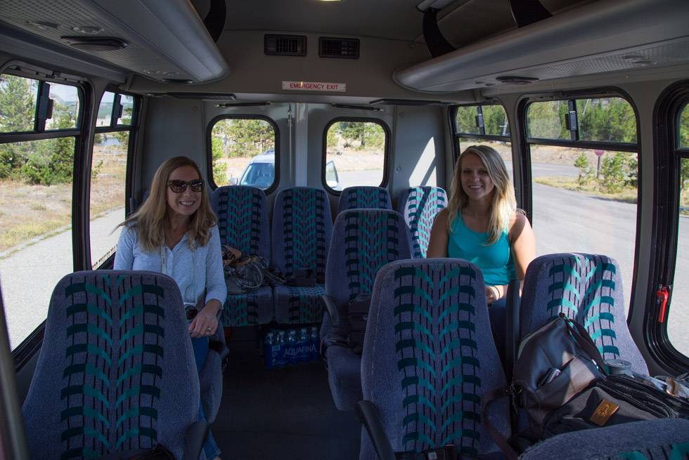 Our Buffalo Buses are roomy inside with oversized windows for incredible viewing.