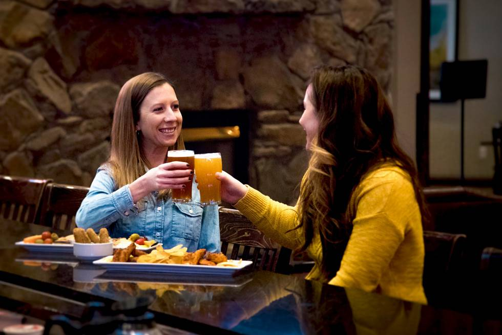 Stop in at The Branch Bar for drinks and appetizers in West Yellowstone!