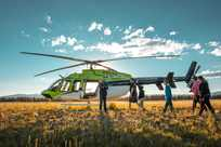 Yellowstone National Park helicopter tours