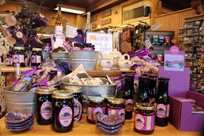 Huckleberry products at Yellowstone General Stores