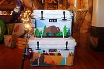 Yeti coolers at Yellowstone General Stores