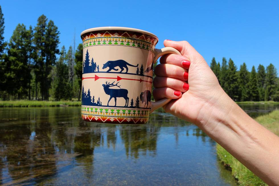 Wildlife mug at Yellowstone General Stores