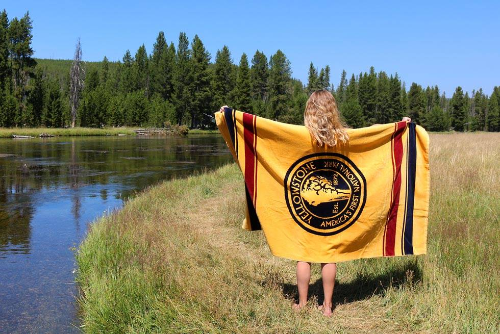 Yellowstone towel from Yellowstone General Stores