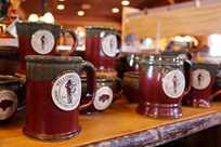 Yellowstone mugs at Yellowstone General Stores