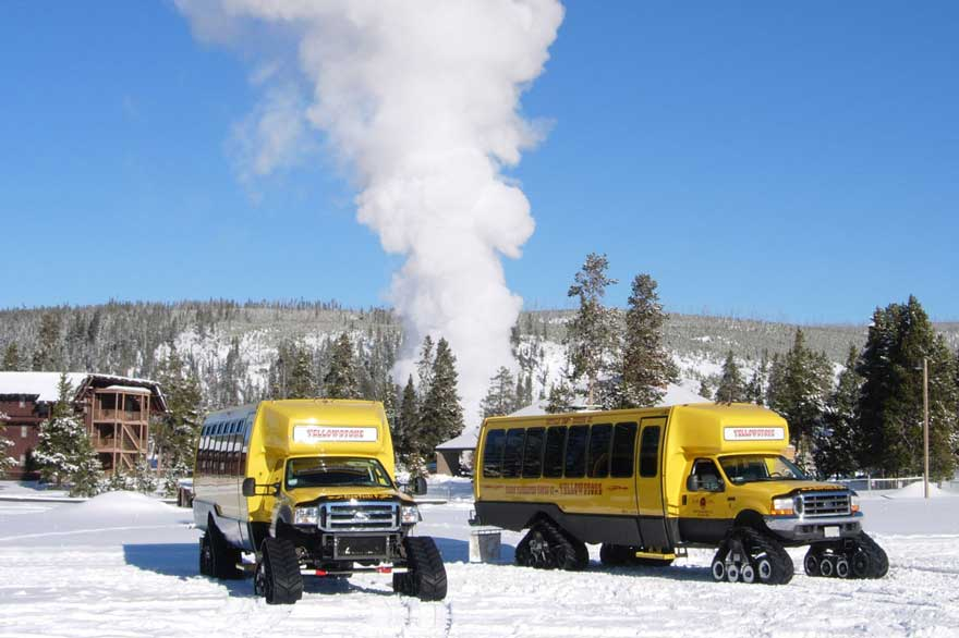 Tours From Big Sky To Yellowstone Winter