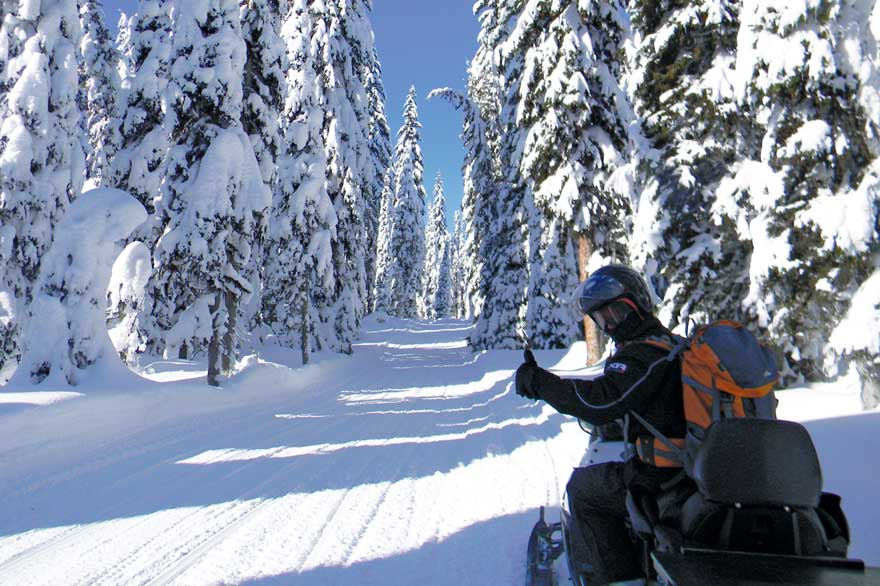 Yellowstone Snowmobile Rentals