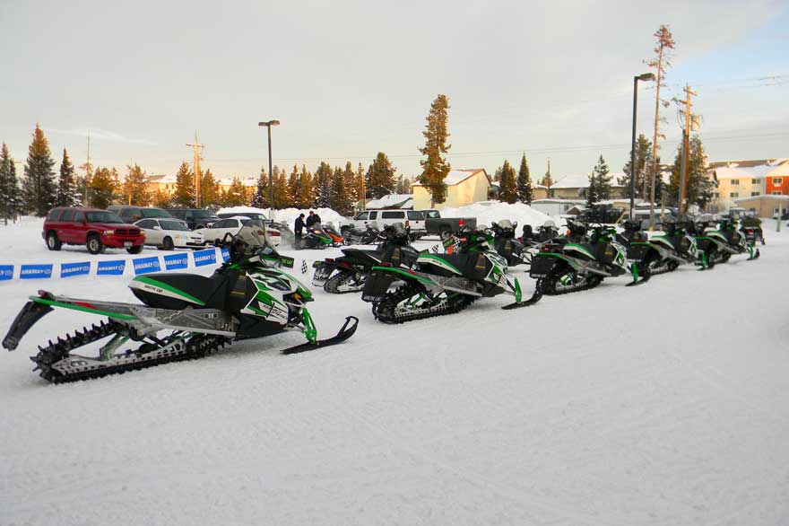 Yellowstone Snowmobile Sales