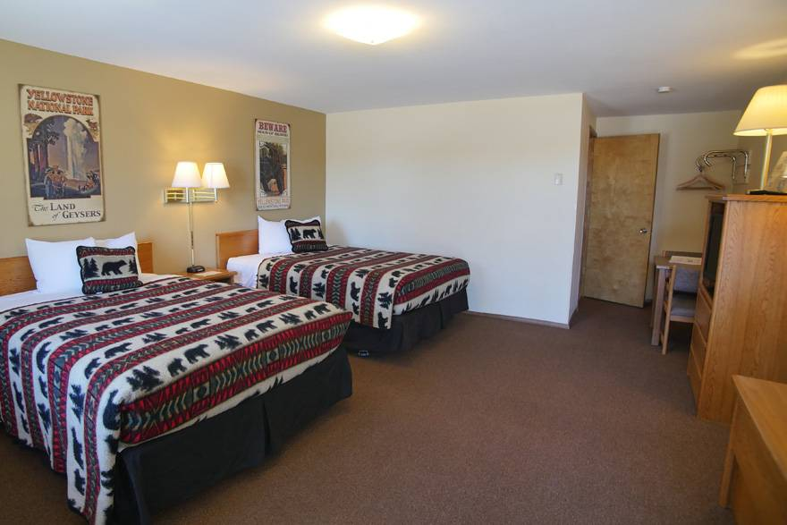 City Center Motel room