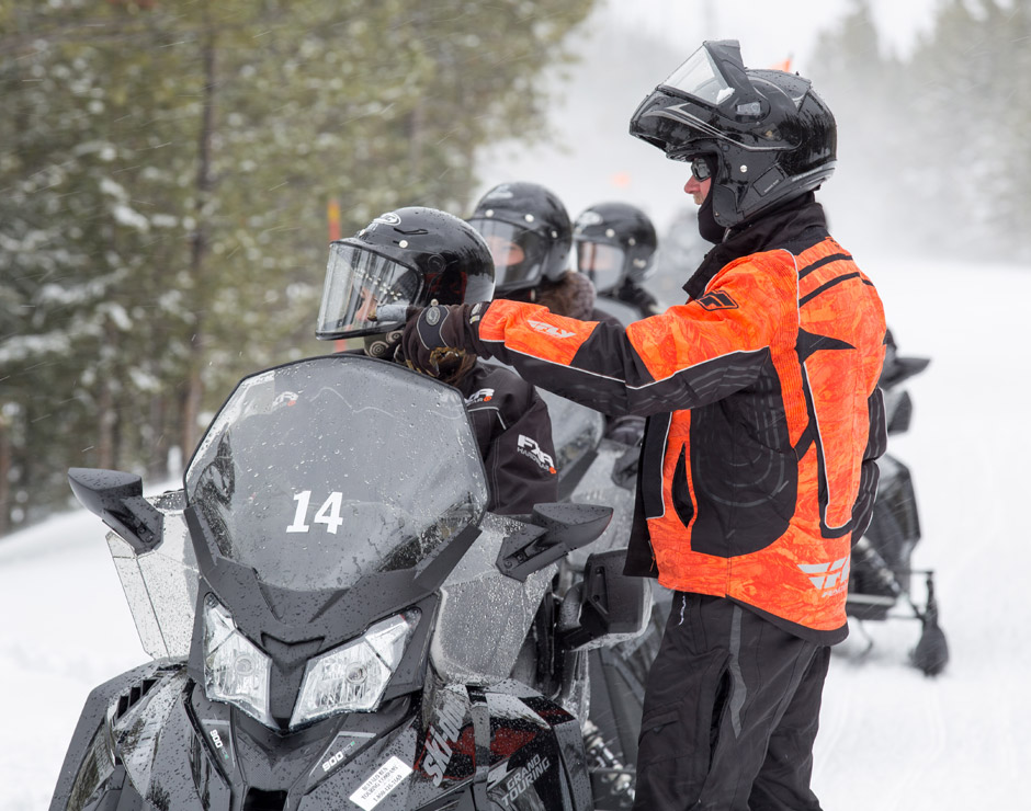 Yellowstone Vacation Tours offers winter snowcoach and snowmobile tours